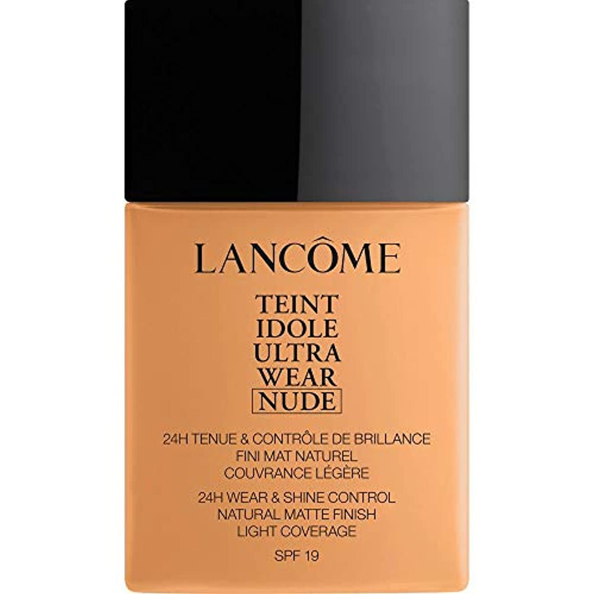 [Lanc?me ] ランコムTeintのIdole超摩耗ヌード財団Spf19の40ミリリットル051 - Chataigne - Lancome Teint Idole Ultra Wear Nude Foundation...