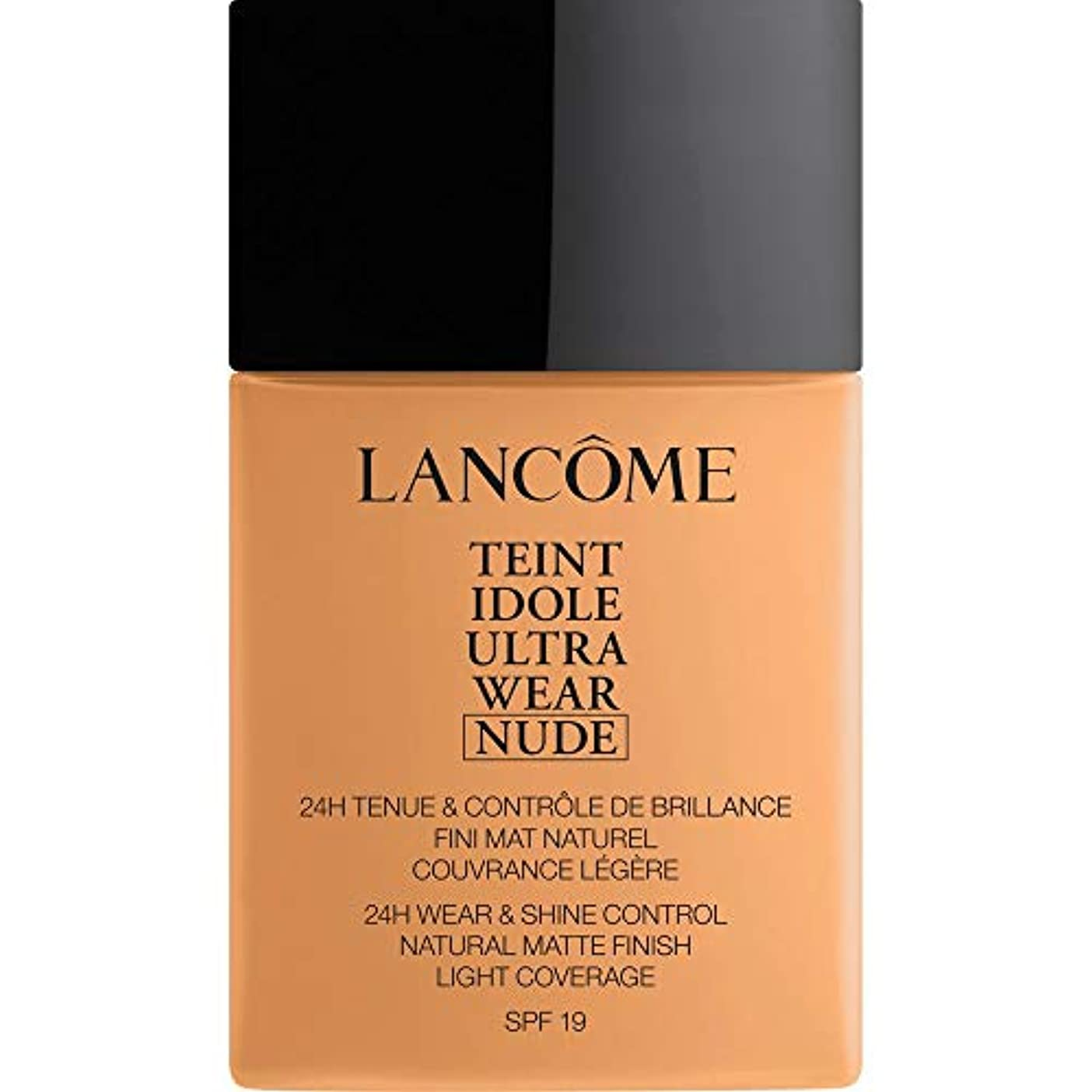 [Lanc?me ] ランコムTeintのIdole超摩耗ヌード財団Spf19の40ミリリットル051 - Chataigne - Lancome Teint Idole Ultra Wear Nude Foundation...