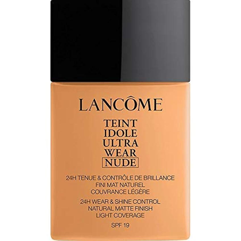 ゲインセイギャザーピクニック[Lanc?me ] ランコムTeintのIdole超摩耗ヌード財団Spf19の40ミリリットル051 - Chataigne - Lancome Teint Idole Ultra Wear Nude Foundation...