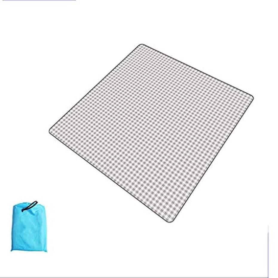 お客様賞シュガーJYY ピクニック毛布、特大200 X 200 Cm、屋外用ビーチテントマット、ハイキング用キャンプマット、ピクニックマット、防水ポータブル (色 : Bean sand ash, Size : 200x200cm)