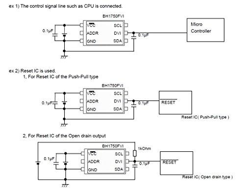 『HiLetgo 3個セット BH1750FVI BH1750 3V-5V デジタル 光量センサモジュール AVR Arduinoに対応 [並行輸入品]』の4枚目の画像