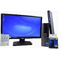 デスクトップパソコン 【OFFICE搭載】 【23インチ FullHD (1920×1080) 液晶モニターセット】 DELL OptiPlex 980 スモールフォームファクタ(SFF) Core i7 870 /16GB/500GB/DVDROM/ATI RADEON HD 3450/Windows 10 / 新品USBマウス・キーボード付
