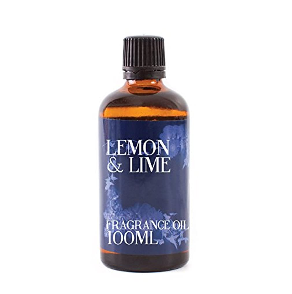 サンダー当社本当のことを言うとMystic Moments | Lemon & Lime Fragrance Oil - 100 ml