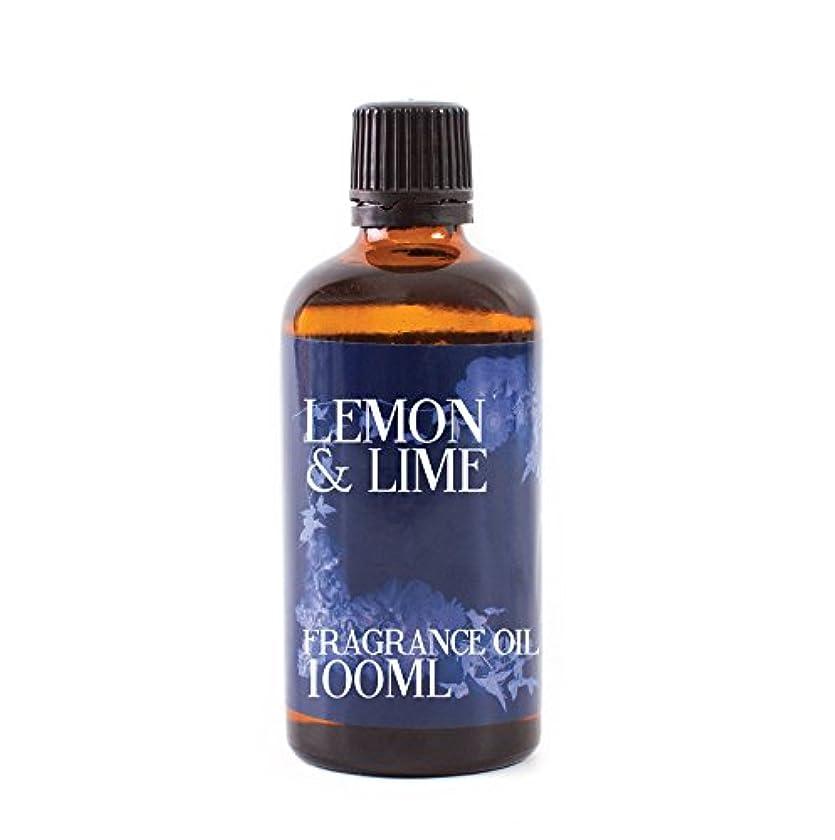 グリーンバック同化ストレスの多いMystic Moments | Lemon & Lime Fragrance Oil - 100 ml