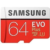 【3年保証】microSDXC 64GB Samsung サムスン EVO Plus UHS-I Class10 U3 4K対応 [並行輸入品]