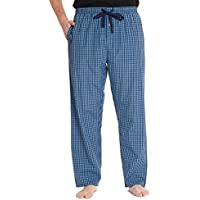 #followme Plaid Men's Pajama Pants PJ Bottoms for Sleeping and Lounge Wear
