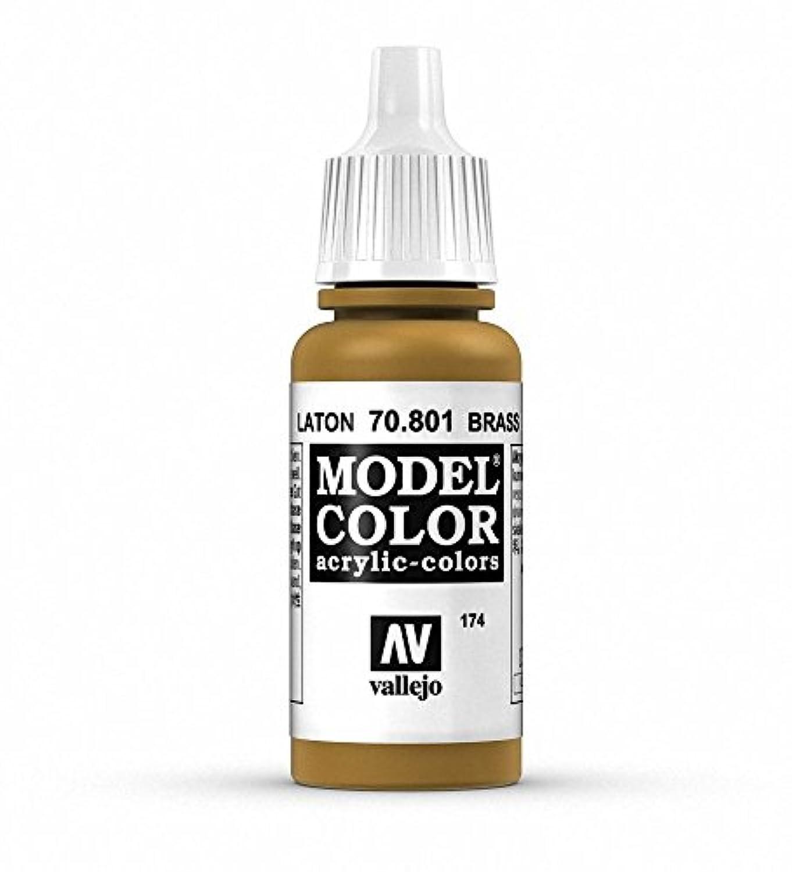 Vallejo P37 Model Colour Paint Brass Val801 70801