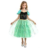 Ecparty Princess Costumes Dress for Your Little Girls Dress up