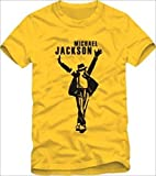 マイケル・ジャクソン Tシャツ MJ Michael Jackson 男女 両サイズ 全6色