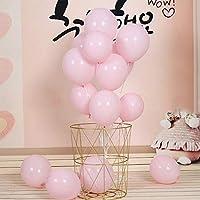 Ochine 100ピース マカロンキャンディー着色 バルーン ラテックス風船用 結婚式 休日イベント 8色選択 誕生日パーティー用品 アーチバルーンタワー