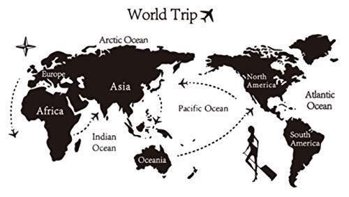 RoomClip商品情報 - [グランメルト]Granmelt ウォールステッカー 世界地図 ワールドマップ シール【全3種類】 (C.シンプル)