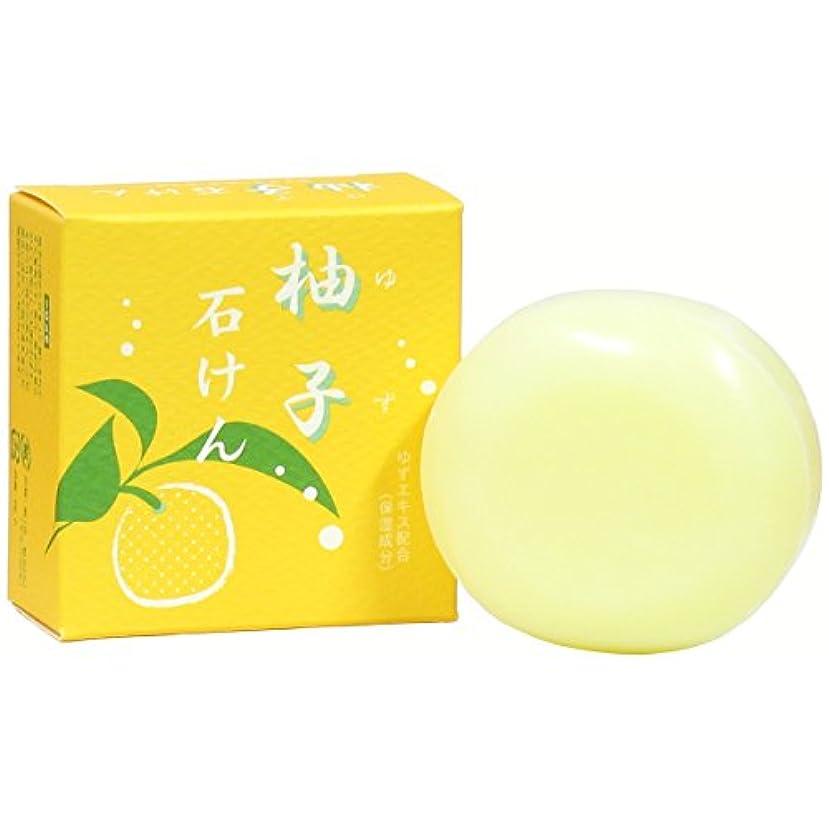 最終検出可能ドキドキゆず石鹸100g ユズ 柚子 石けん せっけん セッケン