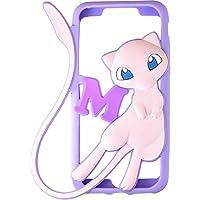 グルマンディーズ ポケットモンスター iPhone7(4.7インチ)対応シリコンケース ミュウ poke-560b