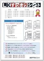 LKすっきりシート(パナソニック VBF611/411用 100台分)LS-PN02-100