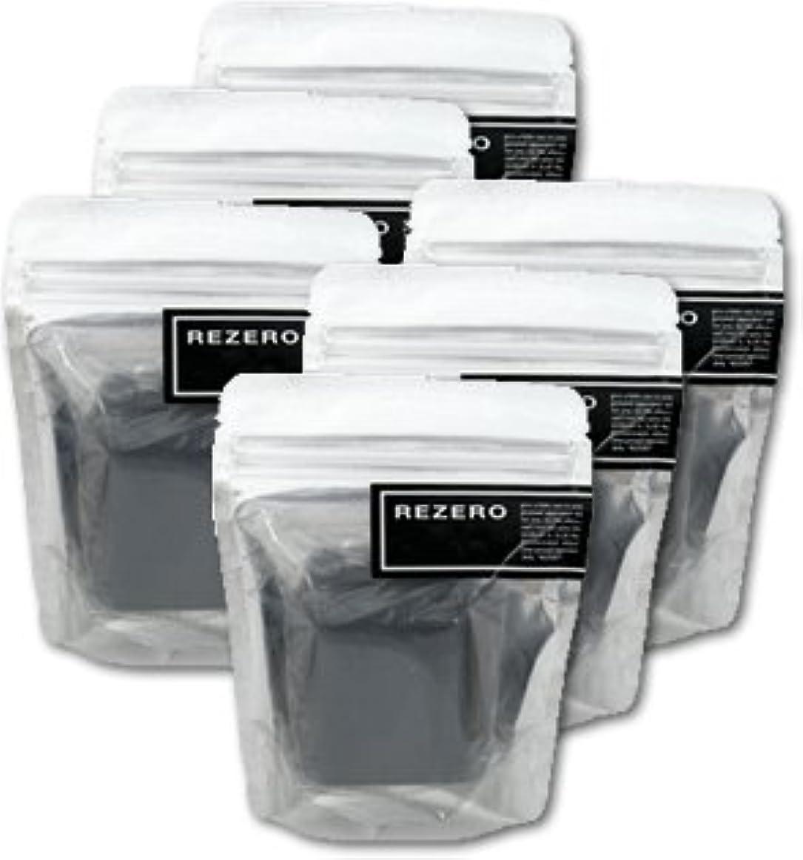 吸収する予見する医薬リゼロ プレミアム柿炭ソープ 90g×6個セット