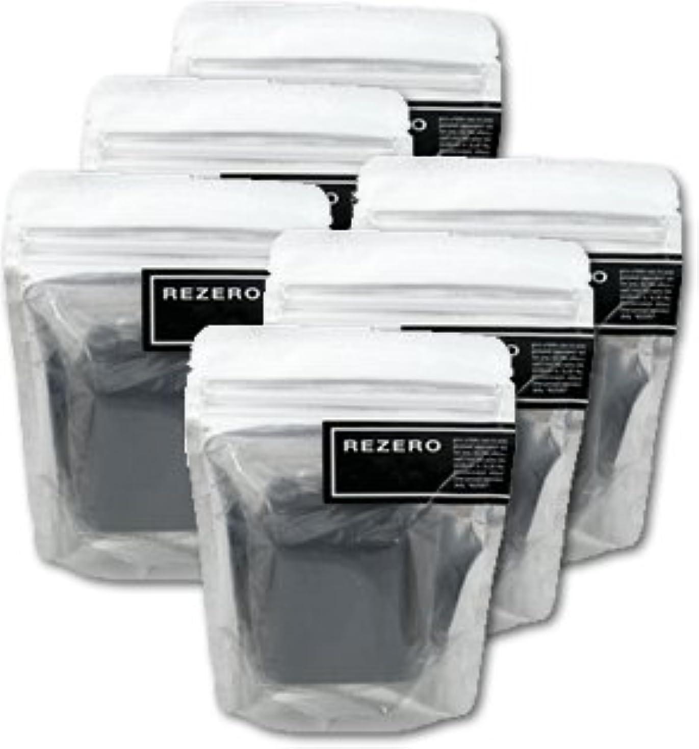 退屈な懐論争的リゼロ プレミアム柿炭ソープ 90g×6個セット