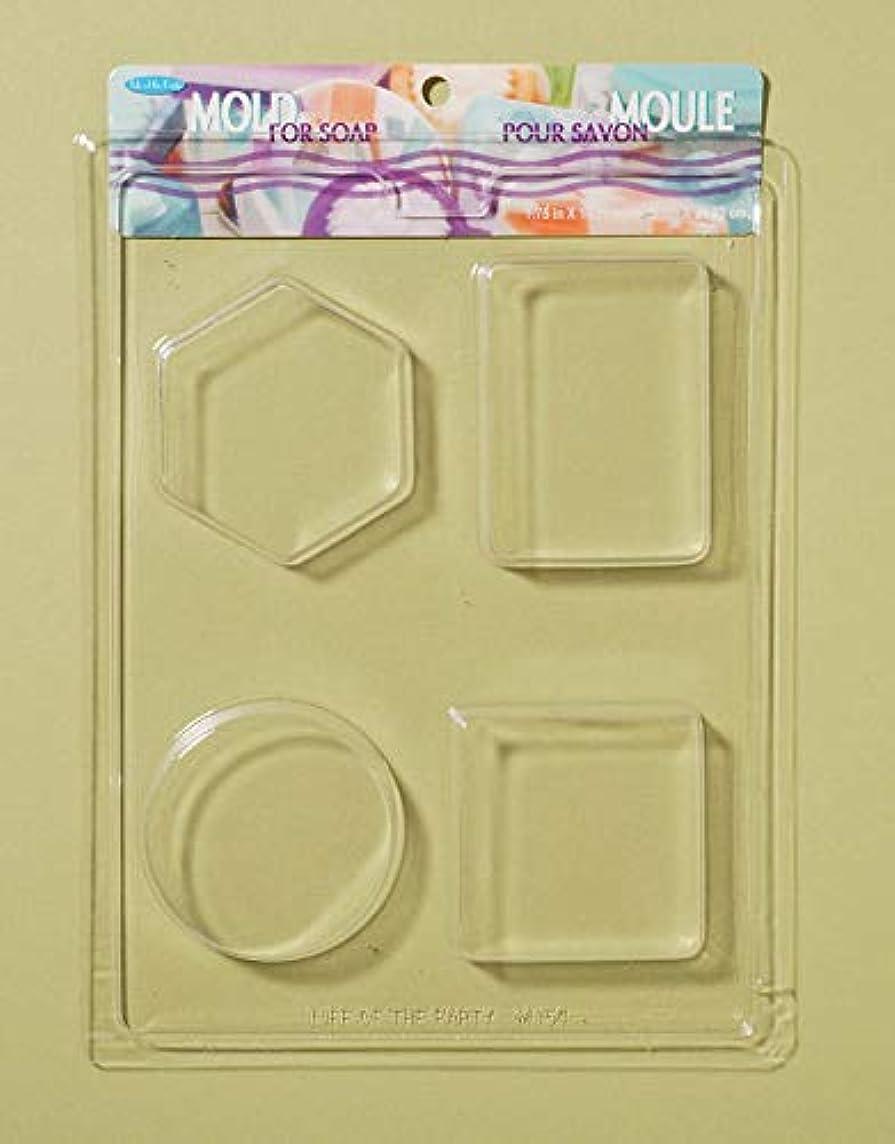 スカルク足首科学者Soap Bar Mold-4 Shapes (並行輸入品)