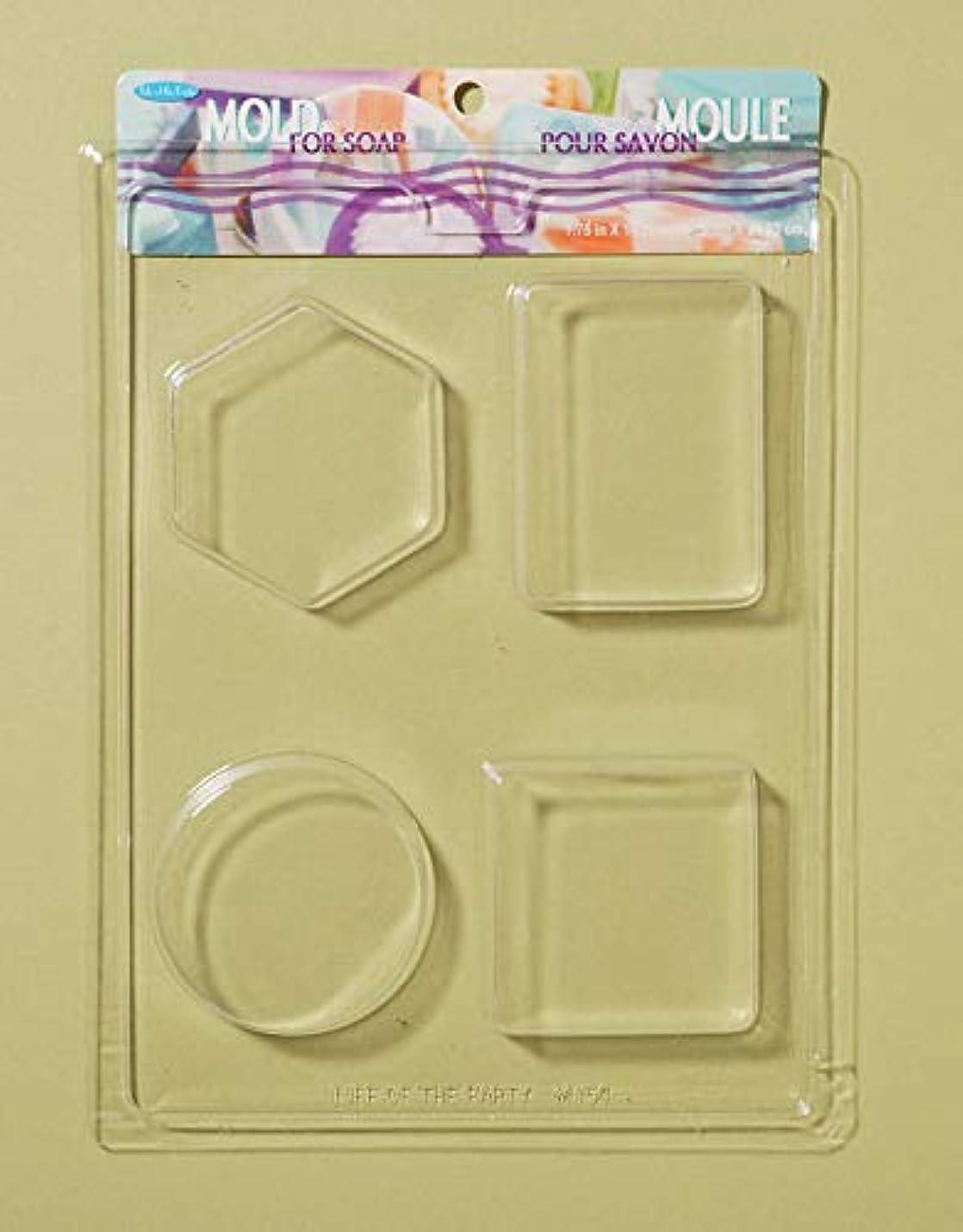 モート観客推進Soap Bar Mold-4 Shapes (並行輸入品)