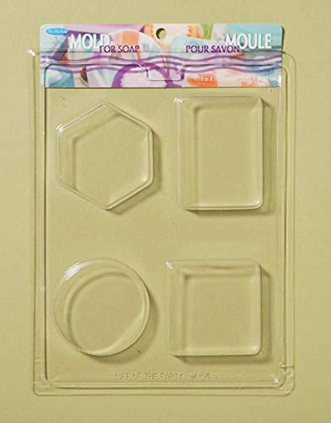 Soap Bar Mold-4 Shapes (並行輸入品)