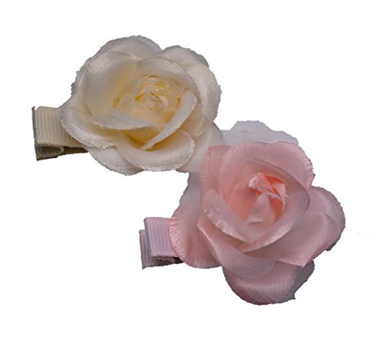 MANDY Little Rose Lt Pink & Ivory