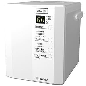 三菱重工 roomist スチームファン蒸発式加湿器(木造和室6畳まで/プレハブ洋室10畳まで) 純白 SHE35PDA-W