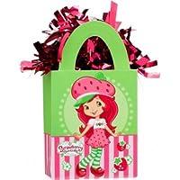 Amscan Girls Strawberry Shortcake Miniトートバッグパーティーバルーン重量、5.7 Oz、ピンク/グリーン