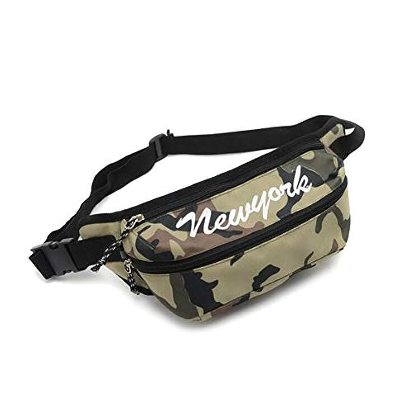 大人アルカイック華氏DishyKooker ファッションポータブル 防水ウエストバッグ ランニングスポーツチェストポケット