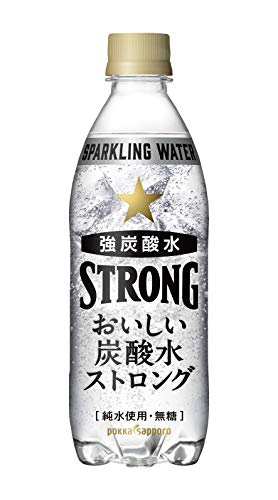 おいしい炭酸水ストロング 500ml ×24本