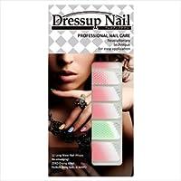 ドレスアップ ネイル フェミニンシリーズ Dressup Nail Series (プチレースxピンク)