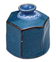 ナマコ六角ミニ花瓶 【 花瓶 】 【 インテリア 花器 床の間 華道 】