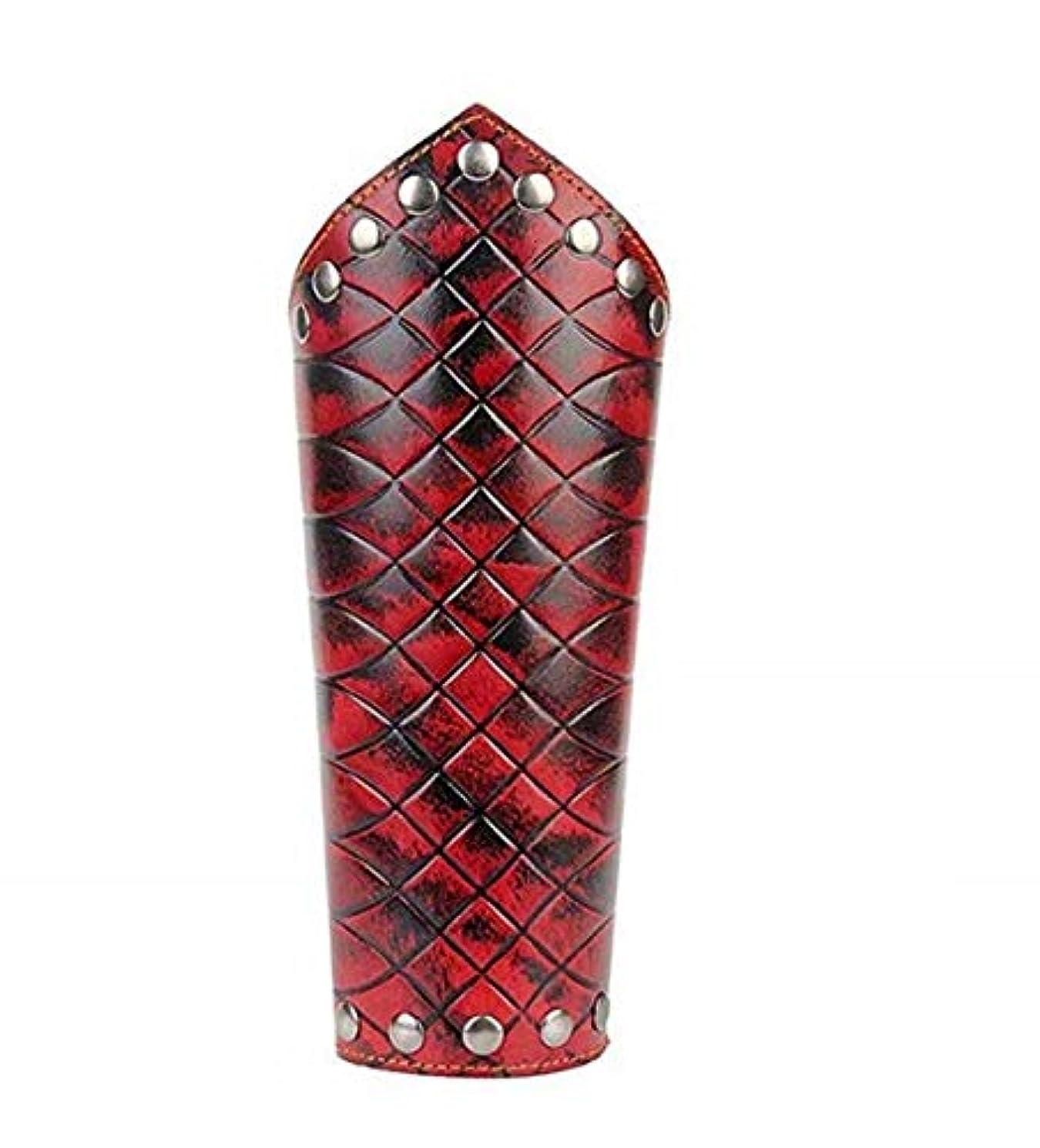 送った配管真珠のような七里の香 中世 ブレスレット レザー ガントレット リストバンド ブレスレット アーム アーマー