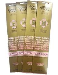 Gonesh Incense Sticks – Cherry Blossom Lot of 4