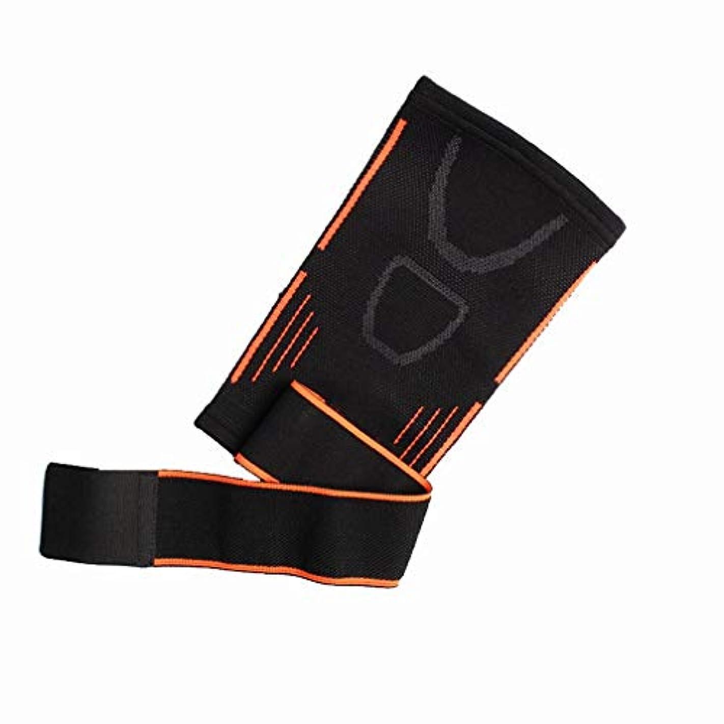 肌制限文字通り屋外スポーツ圧縮肘ニット肘テニス肘サポート肘ガード-Rustle666