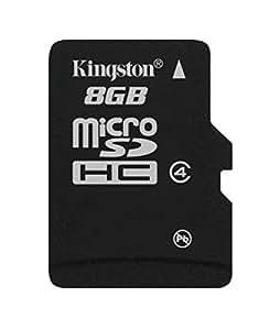 キングストン Kingston microSDHC カード 8GB クラス 4 カードのみ SDC4/8GBSP 永久保証
