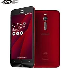 ASUS ZenFone 2 ZE550ML dual sim (4G LTE/2GB RAM / 16GB ROM /5.5inch)[並行輸入品] (Red レッド  紅)