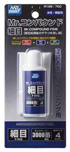 GSIクレオス R189 Mr.コンパウンド 細目 FINE 【塗装表面のクリーニング用】