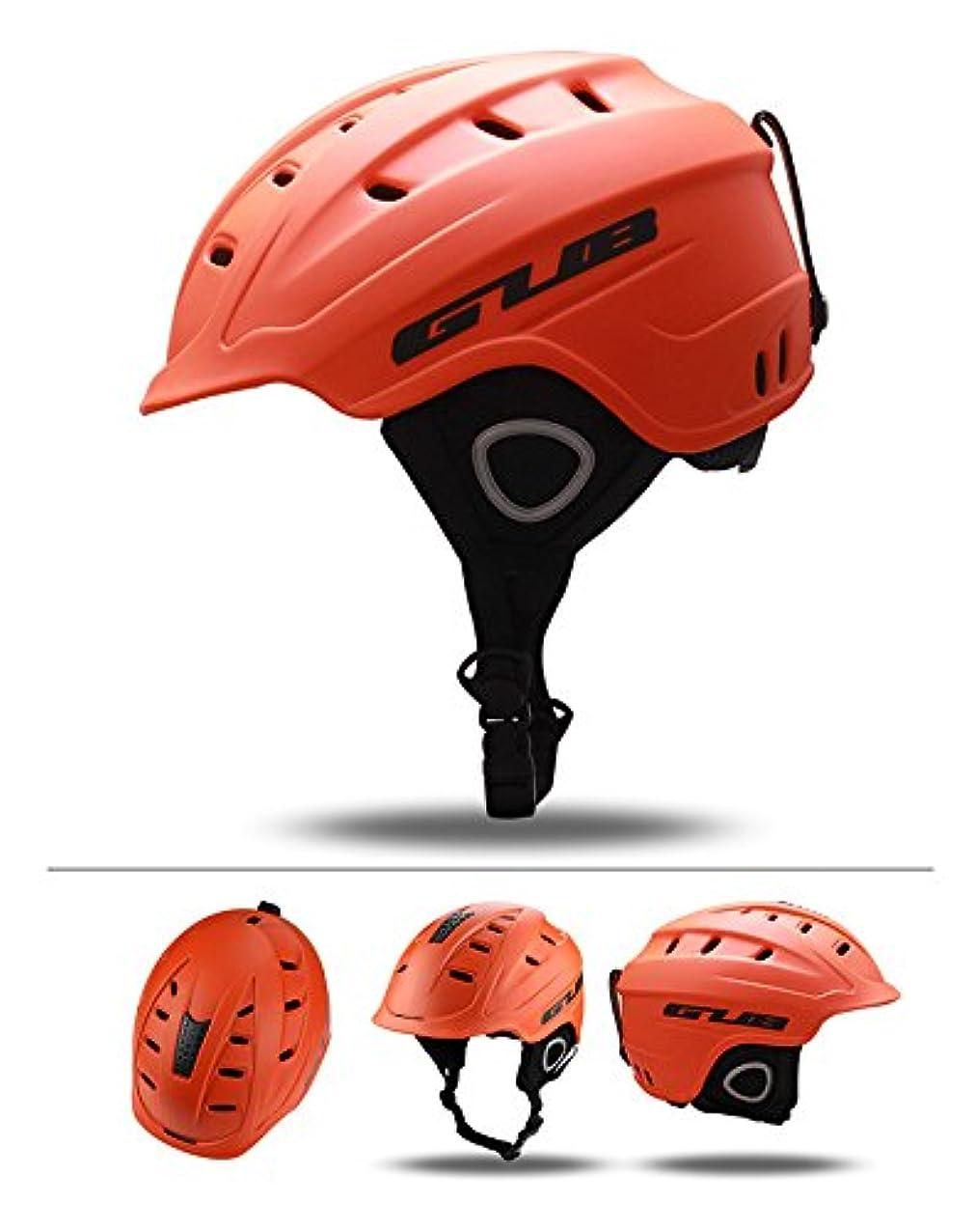 不屈科学者突き出す2018 GUB 616 Professional Adult Ski Helmet Man Women Skating Skateboard Snowboard Snow Sports Helmets