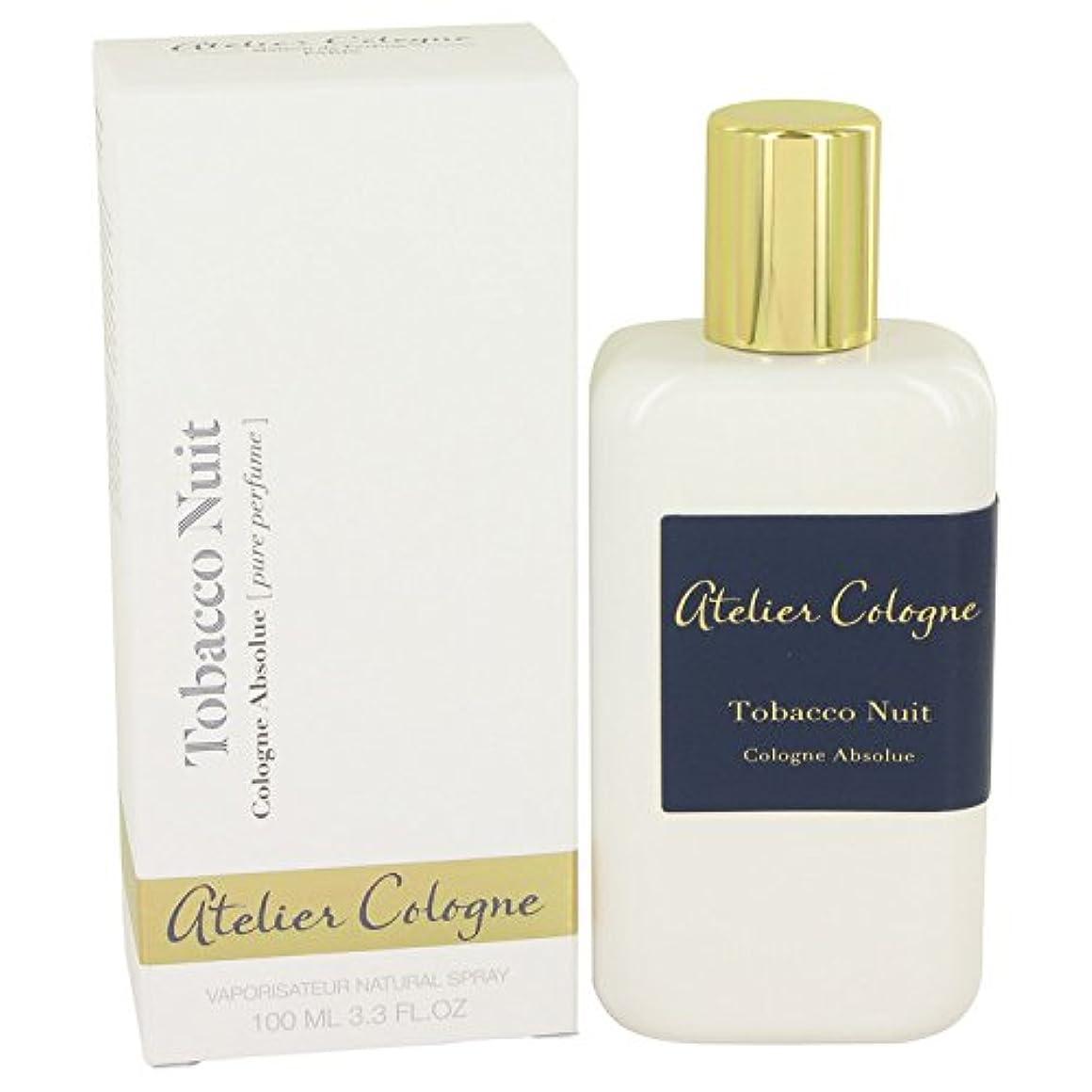 ログベット暗くするTobacco Nuit Pure Perfume Spray (Unisex) By Atelier Cologne