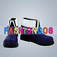 サイズ選択可女性24CM UA0655 金色のガッシュ!! ガッシュ・ベル コスプレ靴 ブーツ