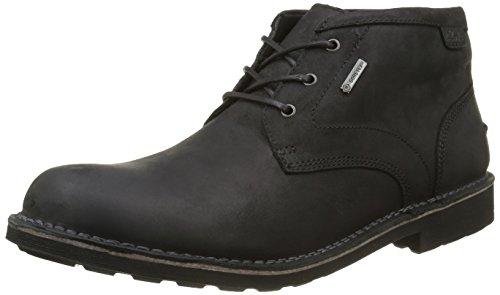 [クラークス] ブーツ Lawes Mid GTX / ローズミッドGTX 26119308 Black Leather(ブラックレザー/7.5)