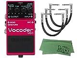 【パッチケーブル3本 + クロス セット】BOSS コンパクトエフェクター Vocoder VO-1