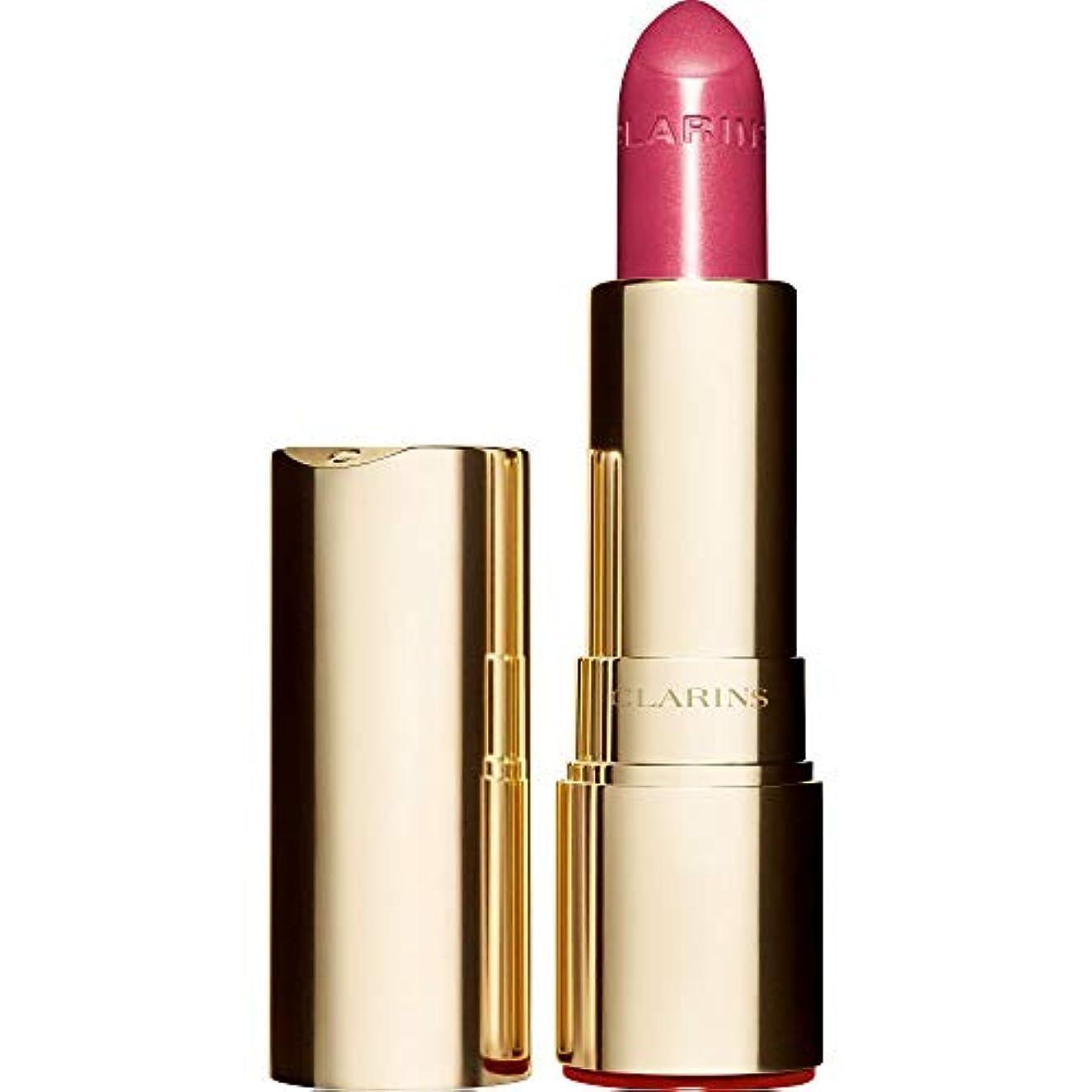 円形人物平和な[Clarins ] クラランスジョリルージュブリリアント口紅3.5グラムの723S - ラズベリー - Clarins Joli Rouge Brillant Lipstick 3.5g 723S - Raspberry...