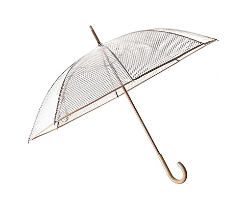 Fondation Louis Vuitton Clear Umbrella ビニール傘 [並行輸入品]