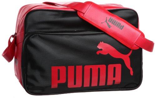 [プーマ] PUMA Ts Mat ASB Type B Shoulder L 869173 01 (ブラック/リーガルレッド)