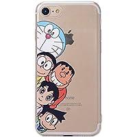 G・Watanabe ドラえもん TPUソフトクリア iphone8 iphone7ケース (iphone7/8)