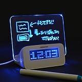 サンコー アイデアボード目覚まし時計 ALMCLK92