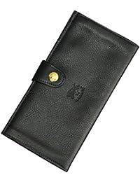(イルビゾンテ) IL BISONTE C1032 ユニセックス 長財布 ブラック [並行輸入品]