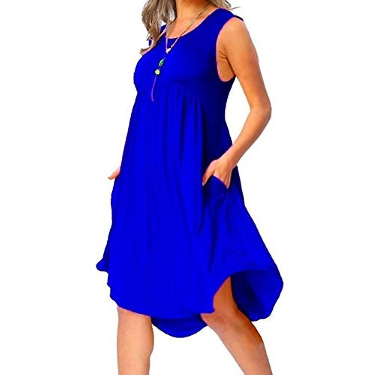 カイウス飛ぶ燃やすMIFAN の女性のドレスカジュアルな不規則なドレスルースサマービーチTシャツドレス