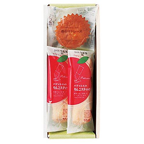 ラグノオ ギフト お菓子 りんごスティック & 森のマドレーヌA