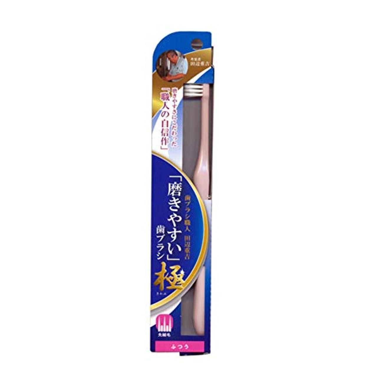 現金始める能力磨きやすい歯ブラシ極 (ふつう) LT-44 先細毛(色選択不可)